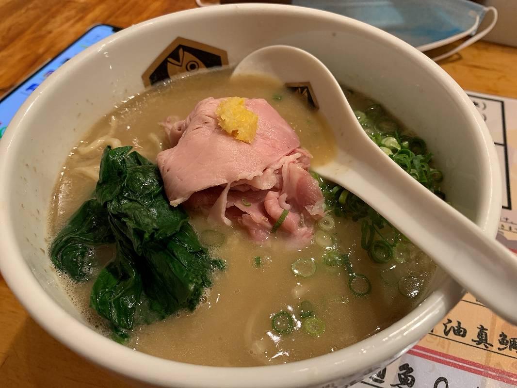 麺魚の濃厚真鯛ラーメン