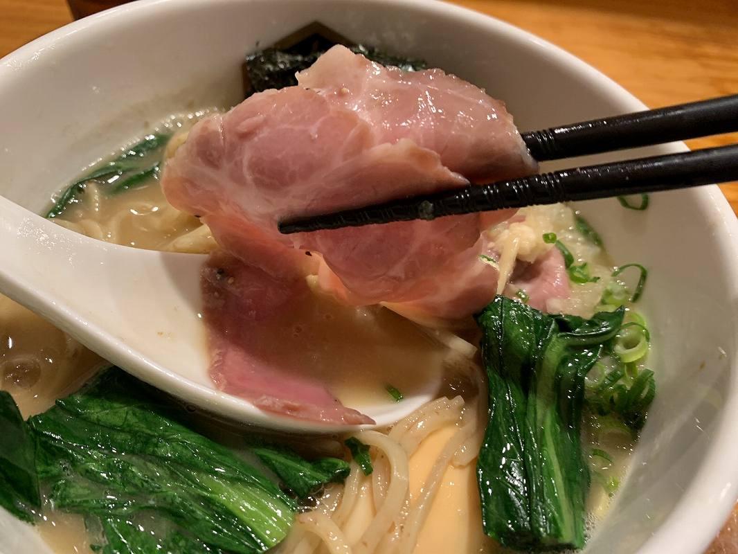麺魚の特製濃厚真鯛ラーメン