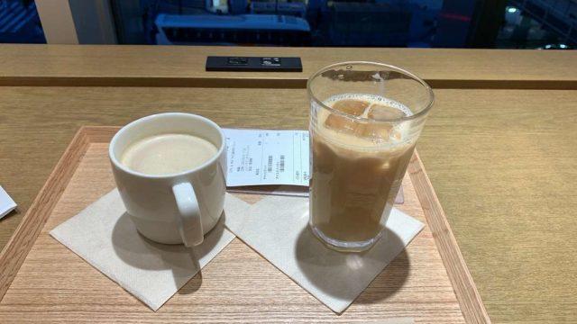 MUJI Cafeのカフェオレとチャイ