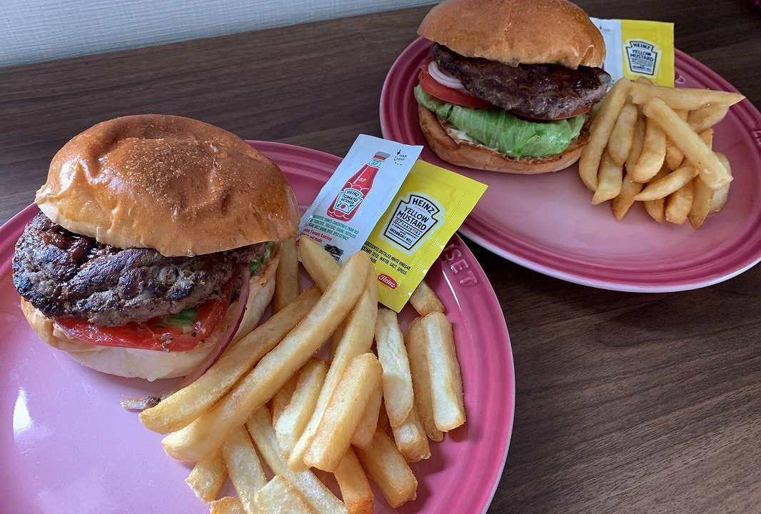 シェイクツリーバーガーのハンバーガー