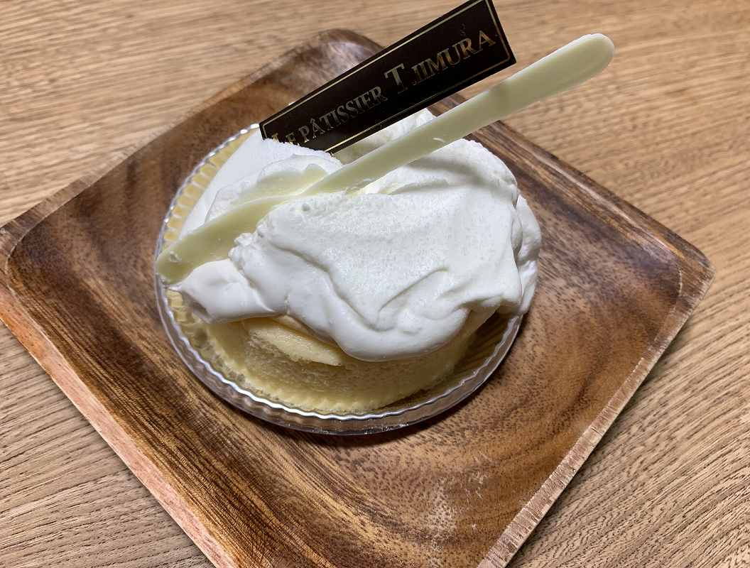 ル パティシエ ティ・イイヤマのチーズスフレパンケーキ