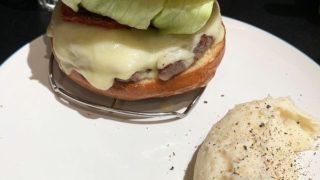 ICONのチーズバーガー