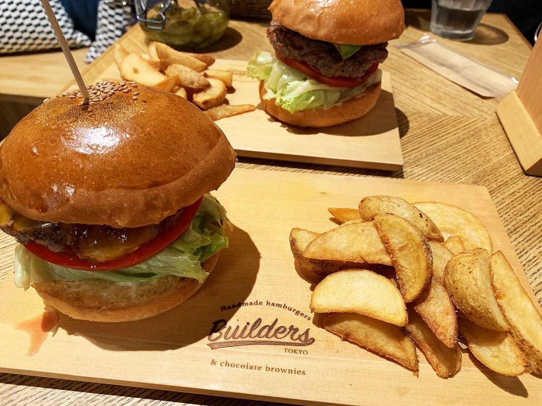 ビルダーズのハンバーガー