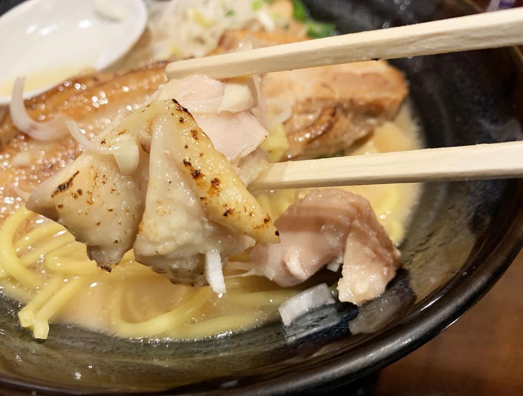ラーメンなが田の鶏チャーシュー